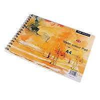スケッチブック 水彩用紙 A4 ハードバック