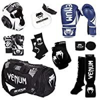 Venum Challenger 2.0 MMAトレーニングセット 12-Oz. Boxing Gloves, M. MMA Gloves