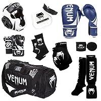 Venum Challenger 2.0MMAトレーニングセット 12-Oz. Boxing Gloves, M. MMA Gloves