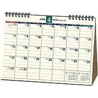 能率 NOLTY カレンダー 2018年 4月始まり 卓上21 B6 U214
