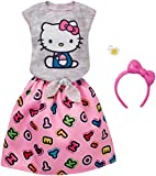 Barbie Fashions Hello Kitty Gray Top &ピンクスカート