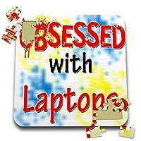 ブロンドDesigns Obsessed with–Obsessed withノートパソコン–10x 10インチパズル( P。_ 241674_ 2)