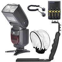 df260C Eliteシリーズデジタル自動電源ズーム自動焦点カメラフラッシュ Kit # 2 260EX