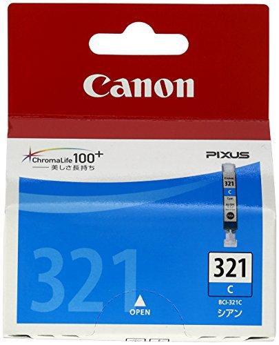 Canon 純正インクカートリッジ BCI-321 シアン BCI-321C