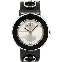 [グッチ] 時計 GUCCI 腕時計 レディース YA129417 Uプレイ シルバー/ブラック ウォッチ [並行輸入品]