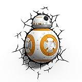 スターウォーズ/フォースの覚醒 3D デコ ウォールライト BB-8 / STAR WARS THE FORCE AWAKENS 2015 3D DECO WALL LIGHT 【並行輸入品】 最新 映画 エピソード7
