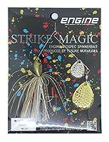 エンジン(ENGINE) ルアー ストライクマジック1/2DC #08フナ.