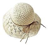 パタゴニア アウトドア (ピーキー)Peigee ストローハット 子供 麦わら帽子 ビーチハット キッズ 女の子 リゾート気分 かわいい 透かし 春夏秋 アウトドア