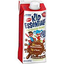 Boost Kid Essentials Nutritionally Complete Drink, Chocolate, 8.25 fl oz box, 16 Pack (Packaging May Vary)