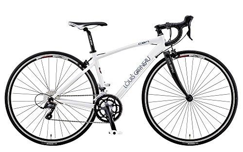 LOUIS GARNEAU(ルイガノ)  ロードバイク LGS-CEN 500mm 2015年モデル ホワイト 15LG-CN-03