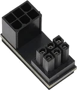 アイネックス PCI Express用電源変換アダプタ C字型 6ピン上ラッチ用 PX-PCIE6CO
