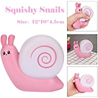 Rosiest低価格KawaiiカットSqueezeジャンボ応力RelieverソフトSnails人形香りつきSlow Risingおもちゃギフト面白いSmell Squishy化学Squishボール
