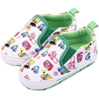 Femizee Newborn Baby Shoes Infant Boys Girls Soft Anti-Slip Dress First Walkers