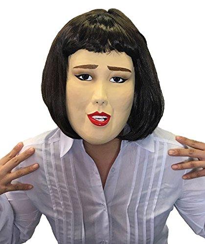 半面マスク キャリアウーマン