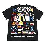 (リアルビーボイス) RealBvoice 7.1オンス ヘビーウェイト 半袖Tシャツ 10021-10015 (S, BK:ブラック)