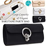 SAKUTANE(JP)パーティーバッグ 大きめ 高級感 レディース クラッチバッグ 3way 鞄