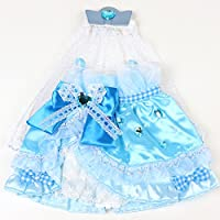 マザーガーデン Mother garden うさももドール 着せ替え人形 服 オーロリボンドレス 青 Mサイズ お人形遊び きせかえ ドール 着せ替え服