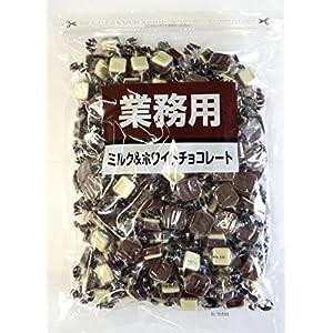 寺沢製菓 ミルク&ホワイトチョコレート 1kg