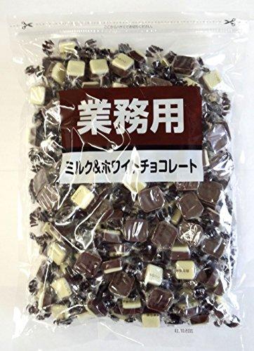 寺沢製菓 ミルク&ホワイトチョコレート 1kg...