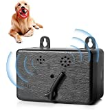AUSELECT Anti Barking Device,Newly Outdoor Ultrasonic Dog Bark Deterrent with 3 Adjustable Modes - No Barking, Up to 16meter