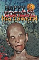 Happy Zombie Halloween: Walking Dead, Bats, Pumpkin & Spooky Cover | Notebooks and journals