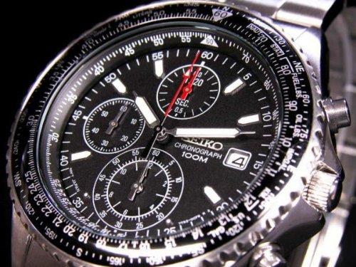セイコー SEIKO 腕時計 クロノグラフ メンズ SND2...