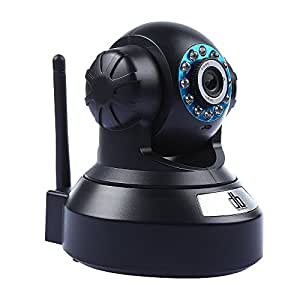 DBPOWER ネットワークカメラ ワイヤレスカメラ 720P百万画素 H.264/MJPEG圧縮  WIFI対応 IR-CUT機能 動体検知 警報機能 DDNS マイク内蔵 暗視機能