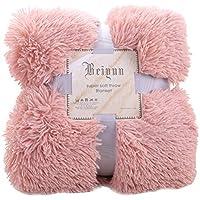 Urijk スーパーソフト暖かいフランネルの毛布 柔らかく肌触り あったか 洗える 130 * 160cm