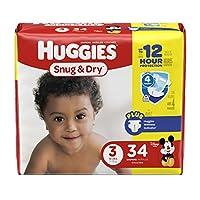 Huggies Snug & Dry Diapers - Size 3 - 34 Count by Huggies
