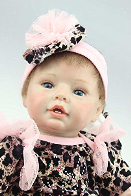 NPK COLLECTION 55CM リボーンドール ベビードール お人形 きせかえ人形 女の子 新年プレゼント 誕生日プレゼント