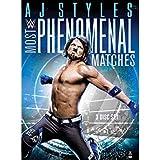 WWE AJ Styles(AJスタイルズ) Most Phenomenal Matches 輸入盤DVD [並行輸入品]