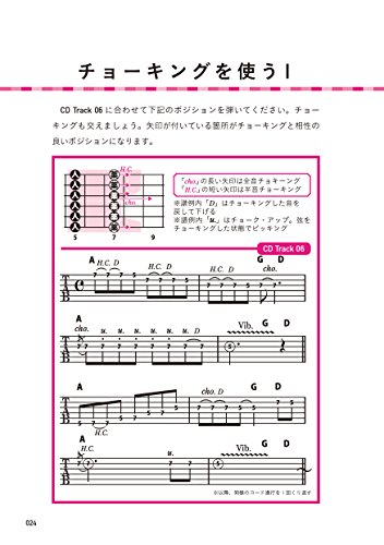 ギター・スケールを覚えないでアドリブをはじめる方法(CD付)