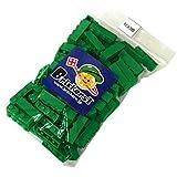 LEGO 3010 レゴブロックパーツ ブロック 1×4:[Green / グリーン] 100個セット ブリッカーズオリジナルステッカー付 [並行輸入品]