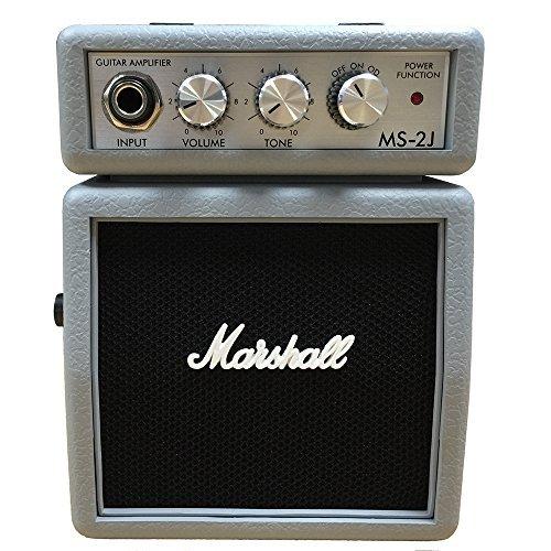 Marshall MS-2 Mini Amp, Silver [並行輸入品]
