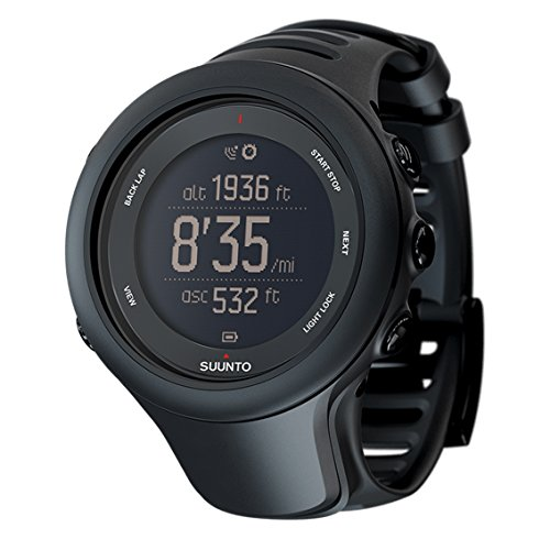 スント(SUUNTO) 腕時計 アンビット3 スポーツ ブラック 5気圧防水 GPS 速度/距離/GPS高度計測 [日本正規品 メーカー保証2年] SS020681000