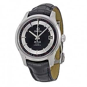 (オメガ) OMEGA 腕時計 デ・ビル アワービジョン 431.33.41.21.01.001 ブラック メンズ [並行輸入品]