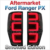 TUNEZ® NEW Replacement Pair Set Smoked LED Tail Rear Lamp Light for Ford Ranger PX T6 MK1 MK2 MK3 XL XLT FX4