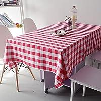 ラウンドテーブルクロス 染色された格子のテーブルクロスの紅茶のテーブルクロスのテーブルクロスのホテルのホテルラウンドテーブルの広場ピクニッククロス テーブルクロス ( 色 : B , サイズ さいず : 220CM )