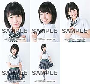 【朝長美桜】 公式生写真 HKT48 2016年10月 vol.1 個別 5種コンプ
