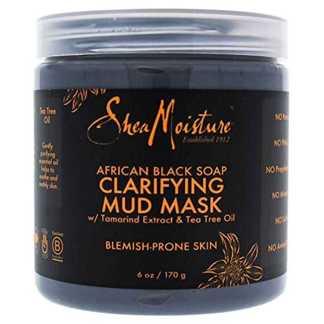 協力的キャプテン軍African Black Soap Clarifying Mud Mask