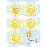 Little Sunshine Party Sticker Sheets リトル?サンシャインパーティーステッカーシート?ハロウィン?クリスマス?