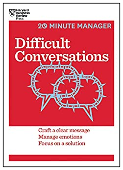 Difficult Conversations (HBR 20-Minute Manager Series) by [Harvard Business Review]