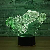 3Dナイトライトバレエシューズ3DナイトライトカラフルなLedライトカスタムガールベッドサイドランプキッズランプナイトライト3D視覚錯視ランプ