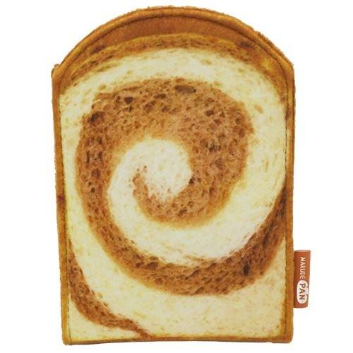 チョコマーブル トースト[手鏡]まるでパンみたいな スタンドミラー2