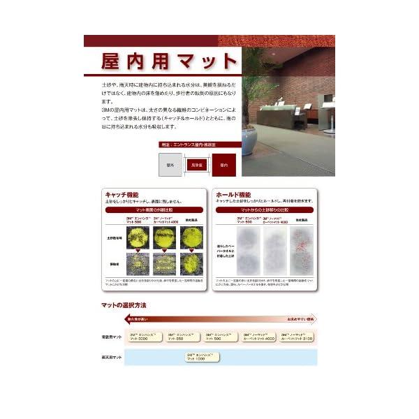 3M 玄関マット ノーマッド カーペットマット...の紹介画像3