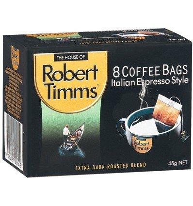 Robert Timms Coffee Bag Italian 8's