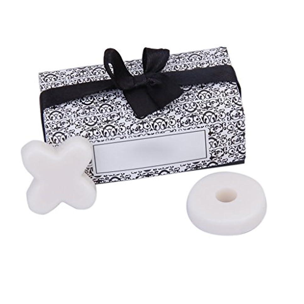 豆天井事実上SODIAL(R) トレンディーかわいい香り 石鹸 結婚式のギフト XO石鹸 パーティー、ベビーシャワー用 ホワイト