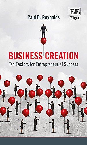 Download Business Creation: Ten Factors for Entrepreneurial Success 1788118340