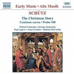 Schütz: The Christmas Storyの商品写真