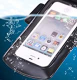 Axstyle 高品質 水深10M スタイリッシュ 防水ケース Waterproof case for iPhone5S/5,GALAXY S III,ARROWS,AQUOS Phone,Xperia 【Axstyle Cleaning Cloth 付属】 アームバンド&ストラップ付属 防水保護等級IPx8 オリジナルモデル